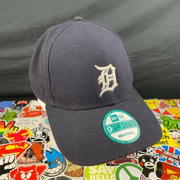 Detroit Tigers New Era Fans Adjustable Hat